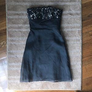 Ann Taylor strapless dress